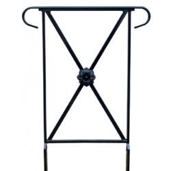 barrière Assia L50 cm avec crosse avec rosace