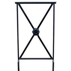 barrière Assia L50 cm sans crosse avec rosace
