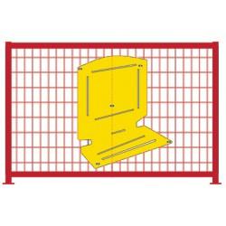 Barrière ecole L150 cm ordinateur