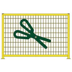 Barrière ecole L150 cm ciseaux