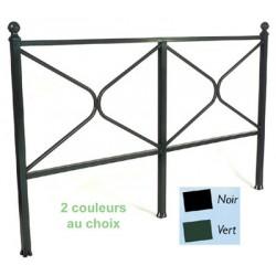 barrière Emma noire ou verte 2m