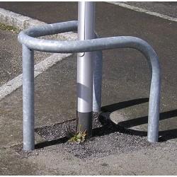 Etrier de protection 3 pieds diam 60 mm galvanisé