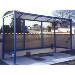 Abri voyageurs Poitou 250x133 cm