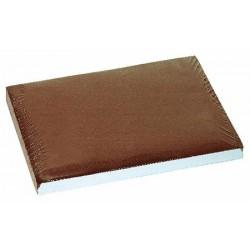 Carton de 500 sets de table papier 30 x 40 cm chocolat