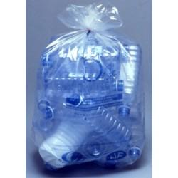 Carton de 10 rlx de 25 sacs poubelles 110L bd 36 microns transparent