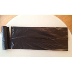 Carton de 8 rlx de 25 sacs poubelles eco 100L 30 microns noir