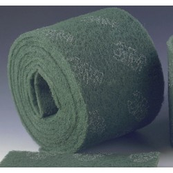 Tampon vert en rouleau 500 x 15,8 cm