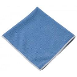 Lot de 5 microfibres c120 40 x 40 cm bleu