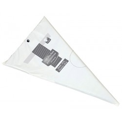 Paquet de 100 poches patissière jetable 80 microns 30 x 53 cm