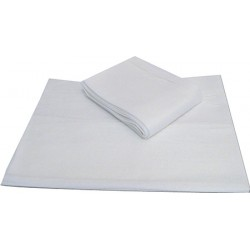 Carton de 50 draps housses blancs jetables 220 x 120 cm