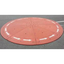 Giratoire franchissable 8 éléments diamètre 3 x H0,10 m