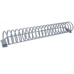 Range vélos spirales 10 à 14 places L200 x P30 x H22 cm