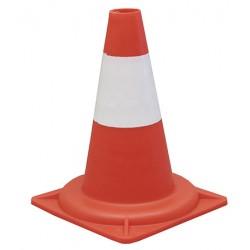 Cone réfléchissant classe 1 base 23 x 23 x H30 cm