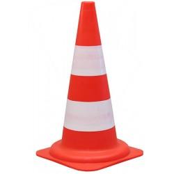 Cone réfléchissant classe 1 base 29 x 29 x H49 cm