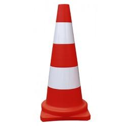 Cone réfléchissant classe 1 base 29 x 29 x H75 cm