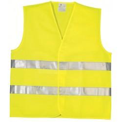 Gilet de signalisation en 471 jaune taille XL