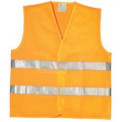 Gilet de signalisation en 471 orange taille XL