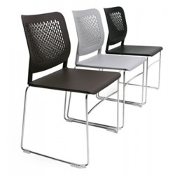 Option système de liaison pour chaise coque Calado pied traineau