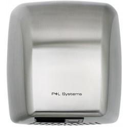 Sèche-mains Eco Design 2100 W inox bossé