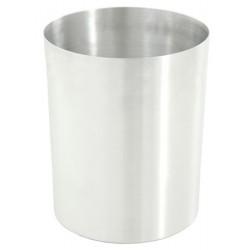Corbeille ronde aluminium 13L