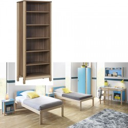 Bibliothèque Mistral L 60 x P 40 x H 180 cm