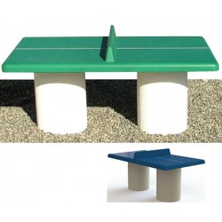 Table de ping pong junior en béton coloré