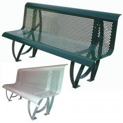 Banc métal Confort Plus Ral 6005 ou 9006