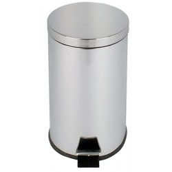 Poubelle JVD à pédale 20 L inox miroir