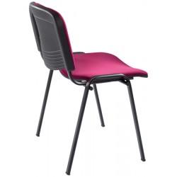 Chaise empilable et accrochable Anne tissu non feu M1
