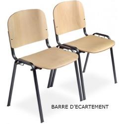 Barre d ecartement pour chaise Anne