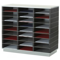 Trieur 27 cases A4 L75 x P32,8 x H70,7 cm