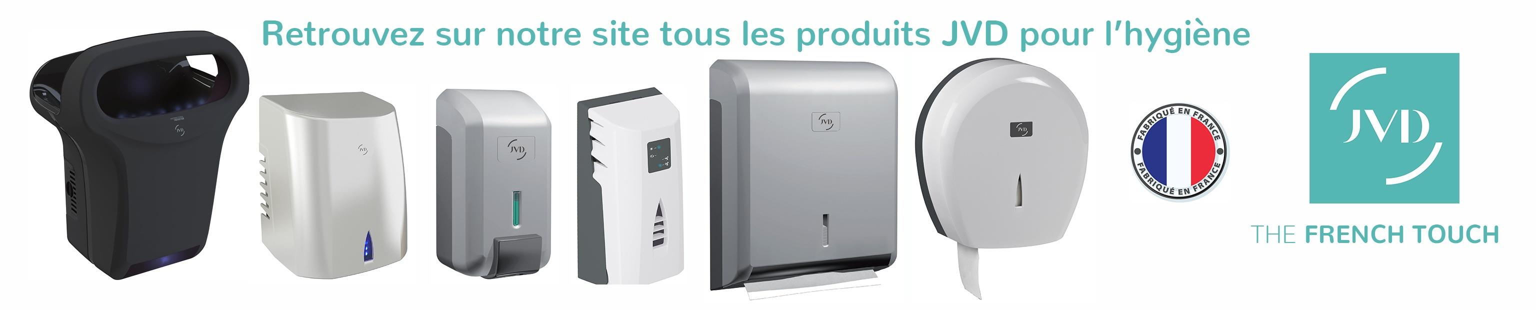Les produits JVD offrent un excellent rapport qualité/prix